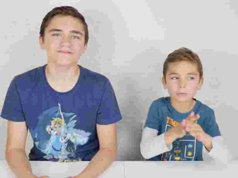 Faire de vos enfants des Youtubeurs relève du 'travail illégal' selon une association qui saisit la justice
