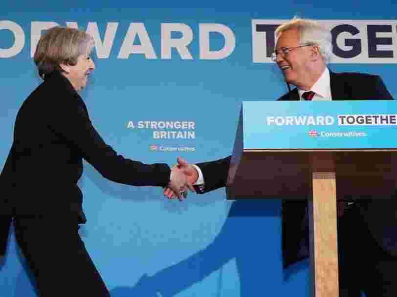 A LIRE: La dramatique lettre de démission de David Davis et les 2 pages et demie de réponse de Theresa May