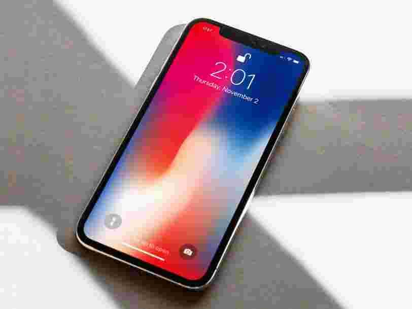 De nouvelles images qui ont fuité affirment montrer l'écran géant d'un 'iPhone X Plus'