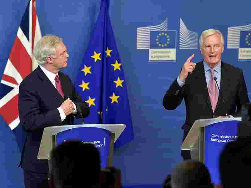 Les négociations sur le Brexit reprennent — il y a 2 questions à régler en priorité