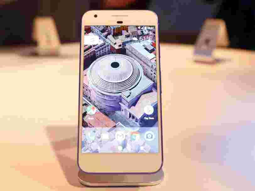 Morgan Stanley estime que le smartphone Pixel rapportera près de $4 Mds à Google