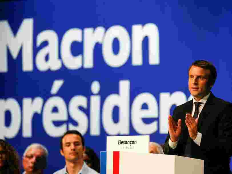 Emmanuel Macron dit ce qu'il fera s'il perd l'élection présidentielle