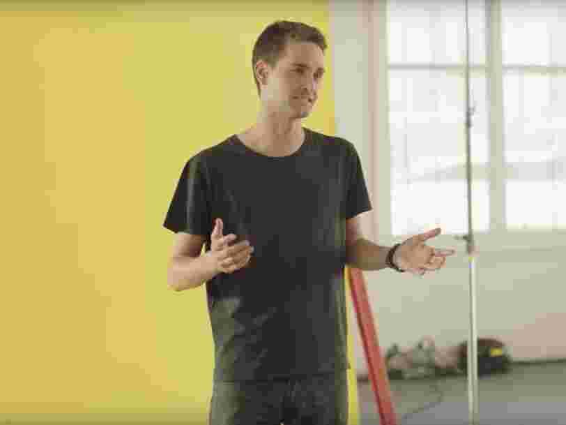 1 million d'utilisateurs s'opposent à la nouvelle interface de Snapchat dans une pétition — Evan Spiegel dit que ça 'valide' cette refonte