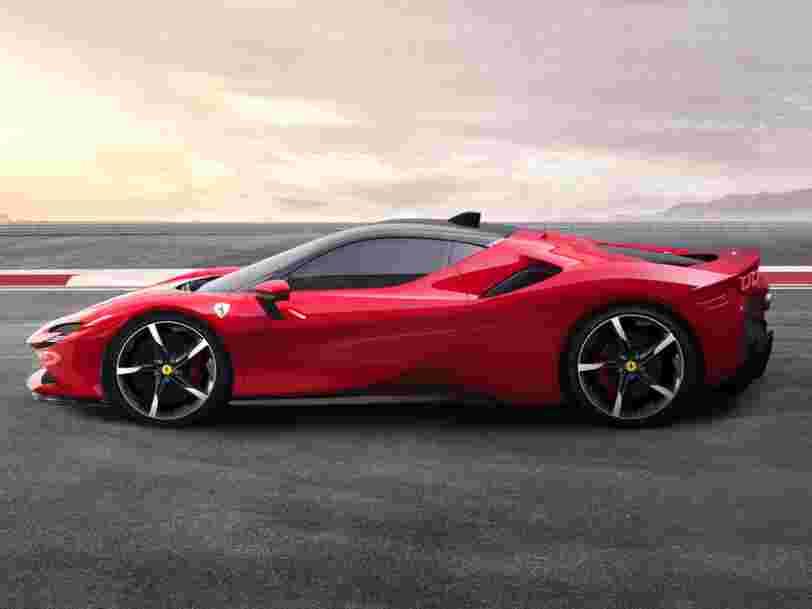 Voici pourquoi la SF90 Stradale est la plus puissante Ferrari jamais conçue