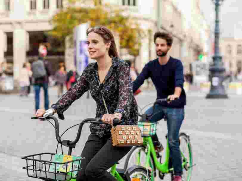 La startup chinoise venue défier le Vélib' à Paris quitterait la capitale 5 mois après son arrivée
