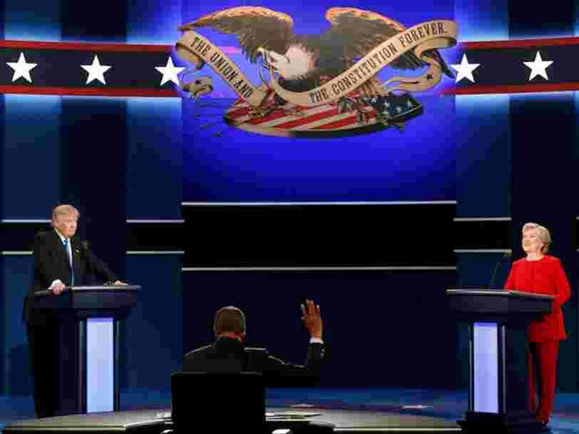 Les citations les plus importantes du premier débat de la présidentielle américaine