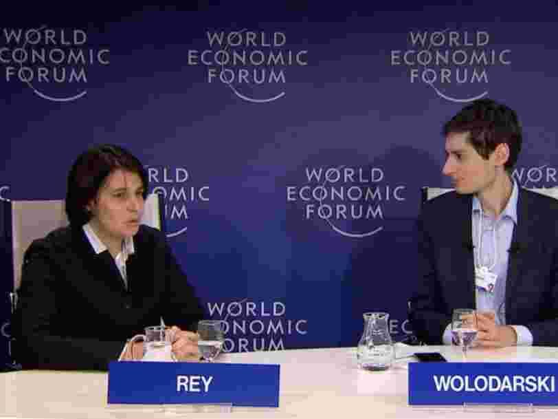 Une menace à 226.000Mds$ plane sur les marchés financiers, selon l'économiste française Hélène Rey