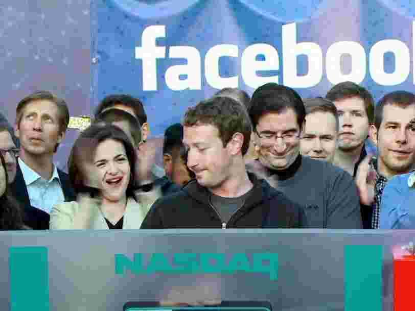 Mark Zuckerberg a réuni 2 proches dans une chambre d'hôtel pour décider s'il fallait introduire Facebook en Bourse en 2012