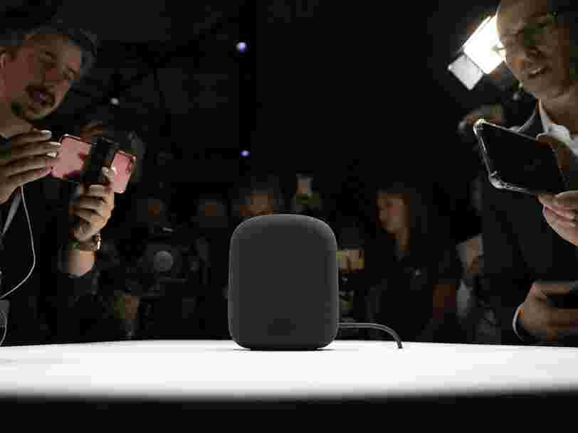 Apple retarde la sortie de ses enceintes connectées HomePod à 'début 2018'