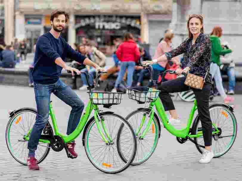 La startup de partage de vélos Gobee.bike annonce son départ de Lille, Reims et Bruxelles après seulement 3 mois