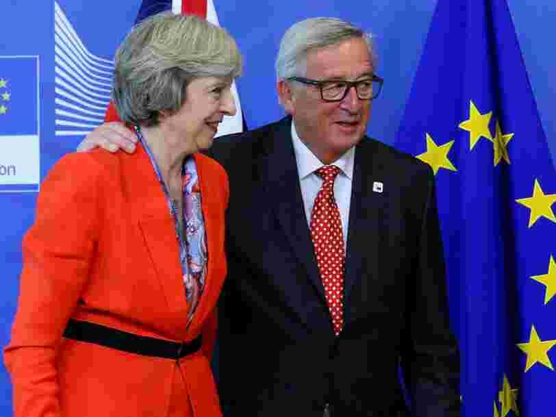 Le Brexit pourrait finalement coûter 100 Mds€ au Royaume-Uni