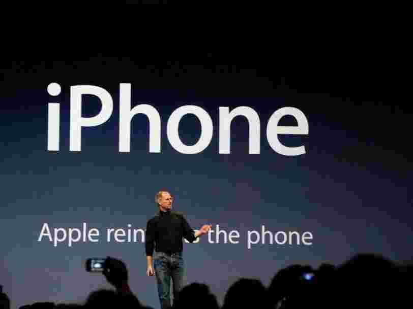 Le premier iPhone est sorti il y a 10 ans — il semble tellement dépassé aujourd'hui