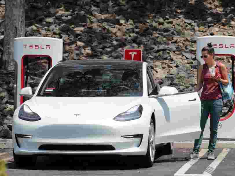 Elon Musk annonce qu'une Tesla avec une autonomie de 640 km devrait bientôt sortir