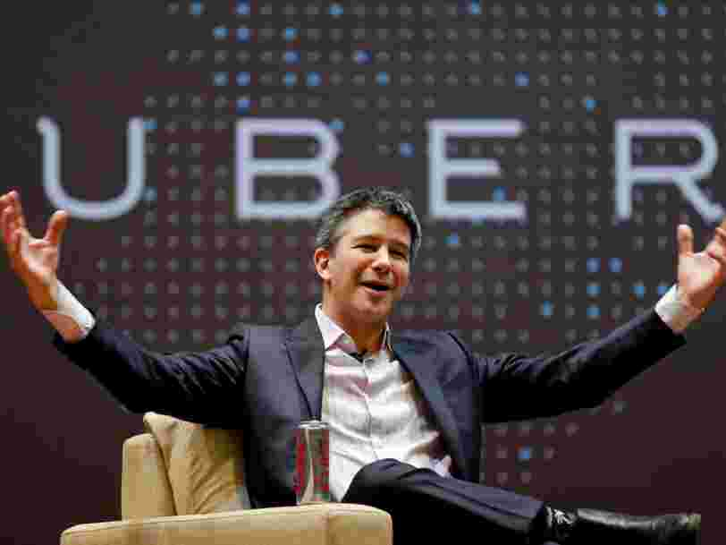 Le patron d'Uber quitte le comité de conseil économique de Donald Trump