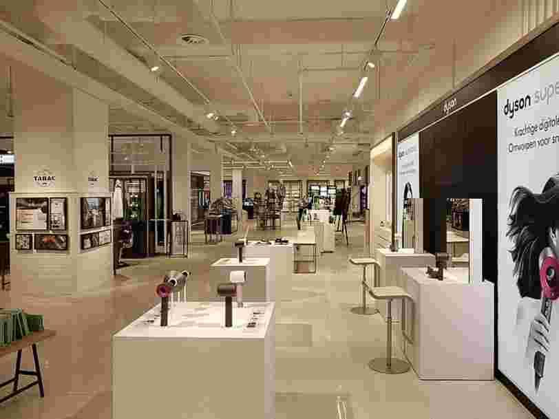 Dyson ouvre son plus grand magasin du monde à Paris