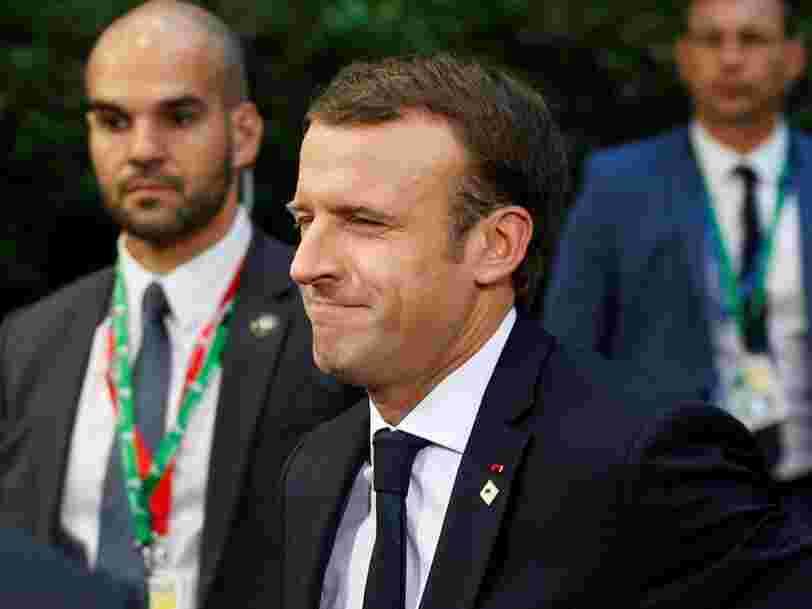 Emmanuel Macron dit que le Royaume-Uni est 'loin du compte' sur la facture du Brexit