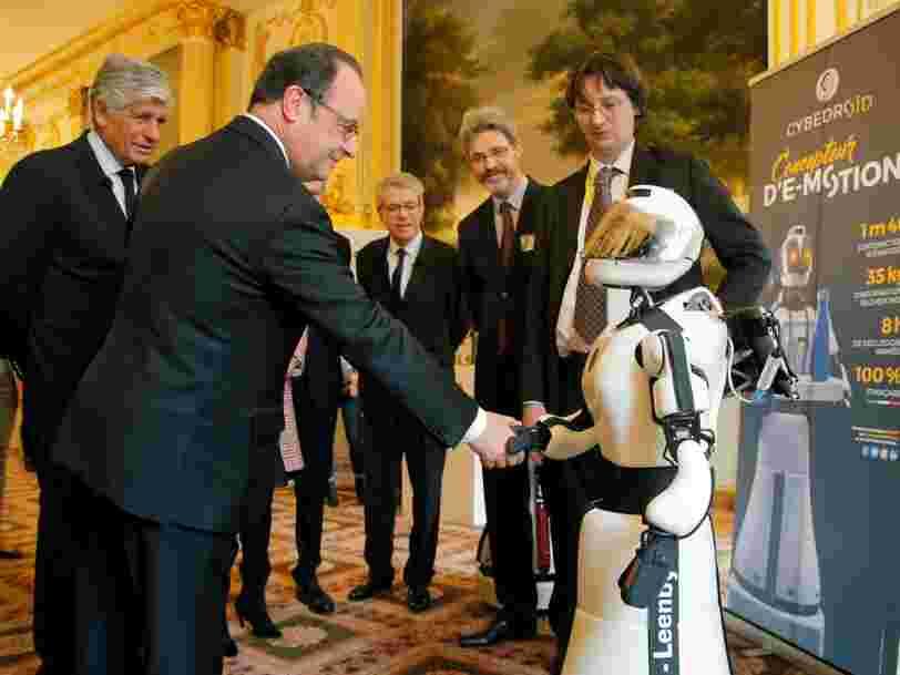 François Hollande lance un programme de 'conquête technologique' dans l'intelligence artificielle