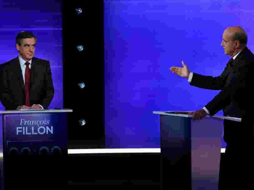 Les déclarations les plus marquantes du débat entre Alain Juppé et François Fillon