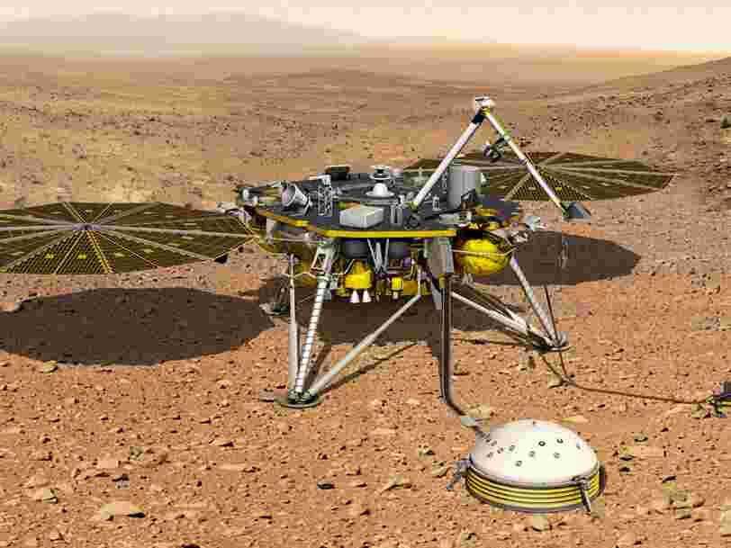 Un instrument français a détecté un tremblement sur Mars et c'est une première mondiale