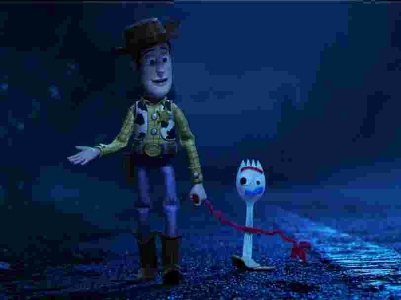 Après 'Toy Story 4', Fourchette aura sa propre série : l'acteur qui fait la voix du personnage nous en dit plus