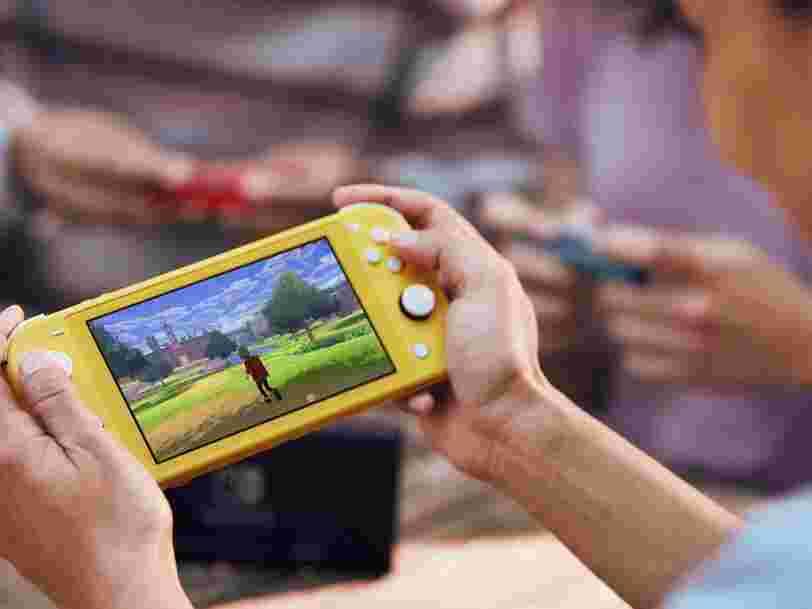 Nintendo annonce la sortie de la Switch Lite à un prix moins élevé que la Switch classique