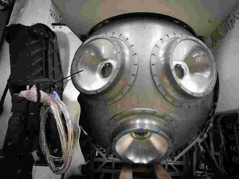 Un sous-marin à 48 M$ va plonger au plus profond de l'océan, là où seulement 3 personnes ont été auparavant