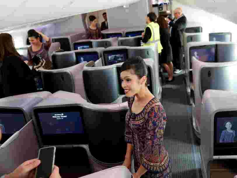 Singapore Airlines lance le vol le plus long au monde — il vous emmènera de New York à Singapour en 19 heures