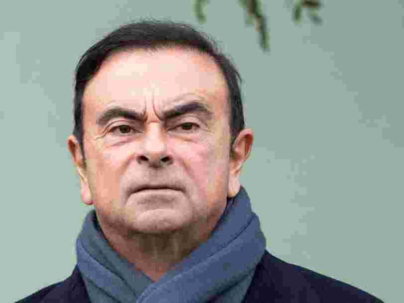 Carlos Ghosn pourrait perdre la présidence de Nissan — retour sur la carrière du PDG de Renault empêtré dans une affaire de fraude fiscale au Japon
