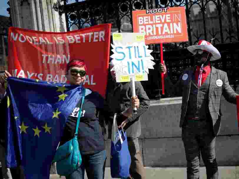 Le Brexit coûte 700 M€ par semaine à l'économie britannique selon Goldman Sachs