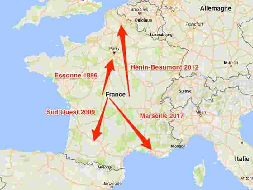 Jean-Luc Mélenchon se présente à Marseille pour devenir député et continue son tour de France des élections