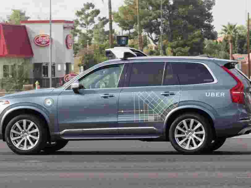 Une voiture autonome d'Uber a renversé et tué une femme — c'est le premier accident mortel de ce type