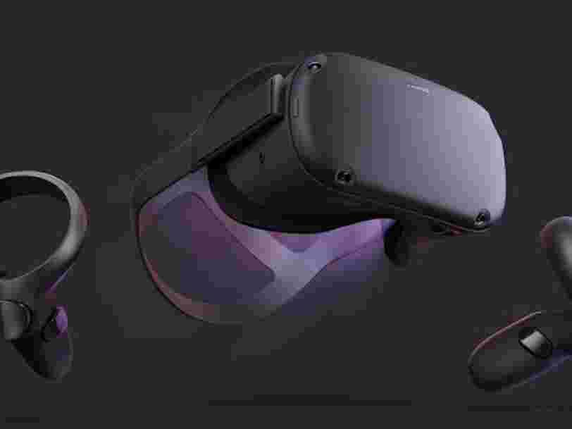 Facebook vient de présenter Oculus Quest, un casque de réalité virtuelle à 399$ qui permet de se passer de PC