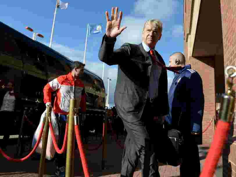 Le Français Arsène Wenger quitte le club anglais d'Arsenal après 22 ans de services