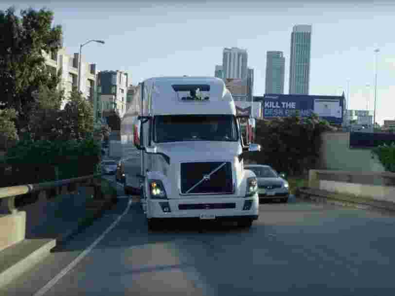 Uber arrête son programme de camions autonomes