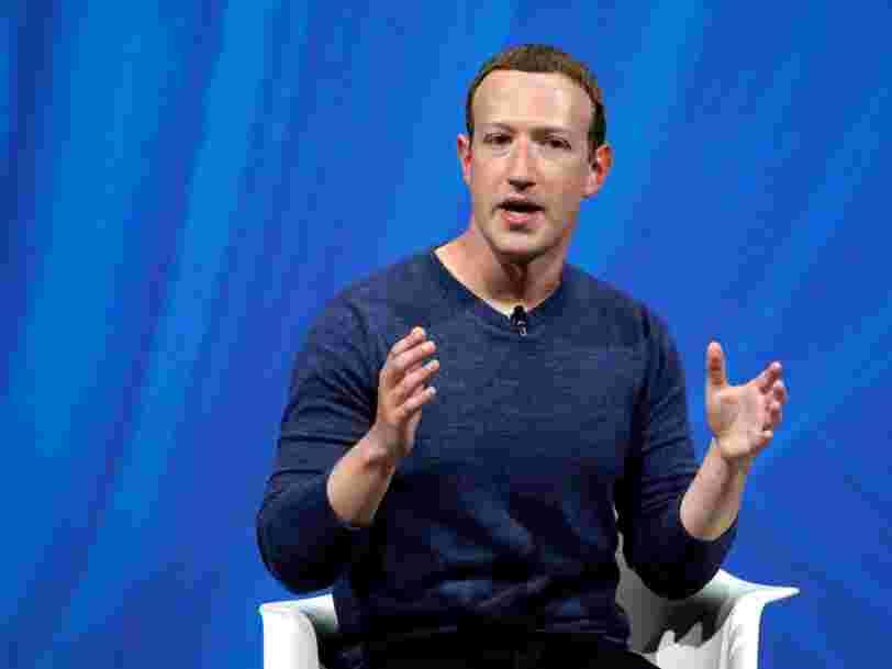 Mark Zuckerberg estime que Facebook ne doit pas traiter les vidéos truquées de la même façon que les 'fake news'