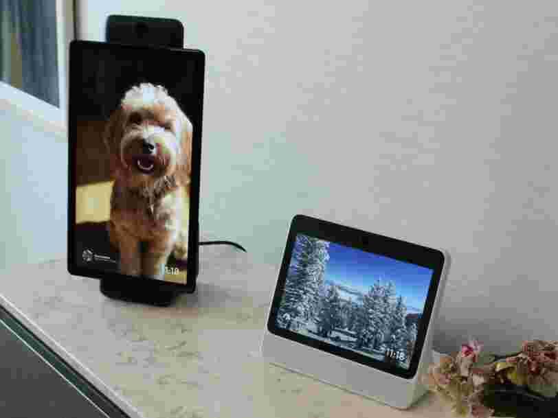 Facebook veut améliorer les appels vidéo avec Portal, un gadget à 200$ qui vous permet de parler avec vos amis de Messenger