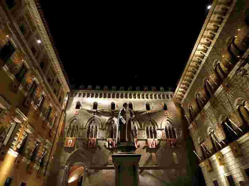 Le gouvernement italien vole au secours de la plus vieille banque du monde