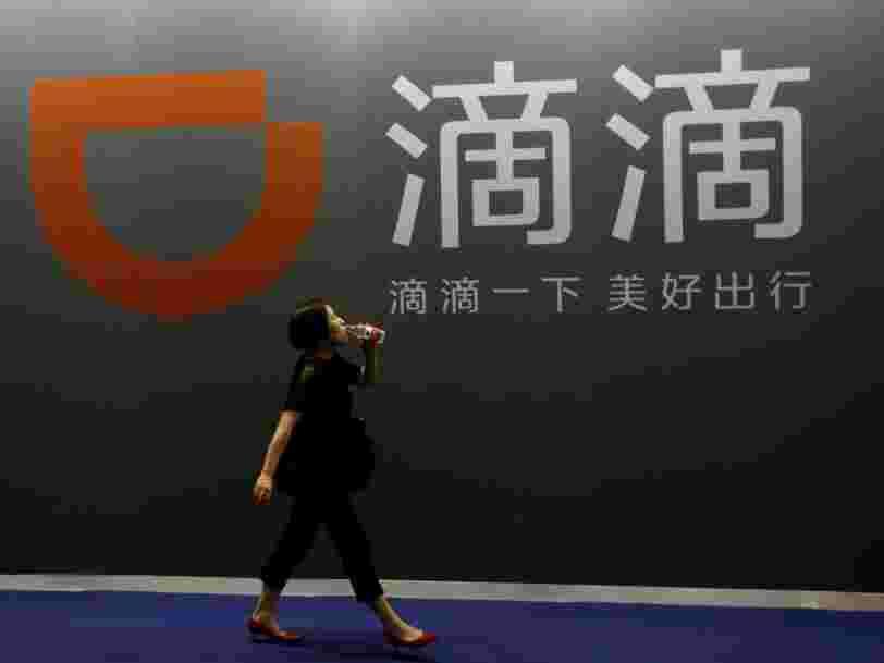 Didi Chuxing vaut désormais plus cher qu'Uber après une levée de fonds de 4Mds$