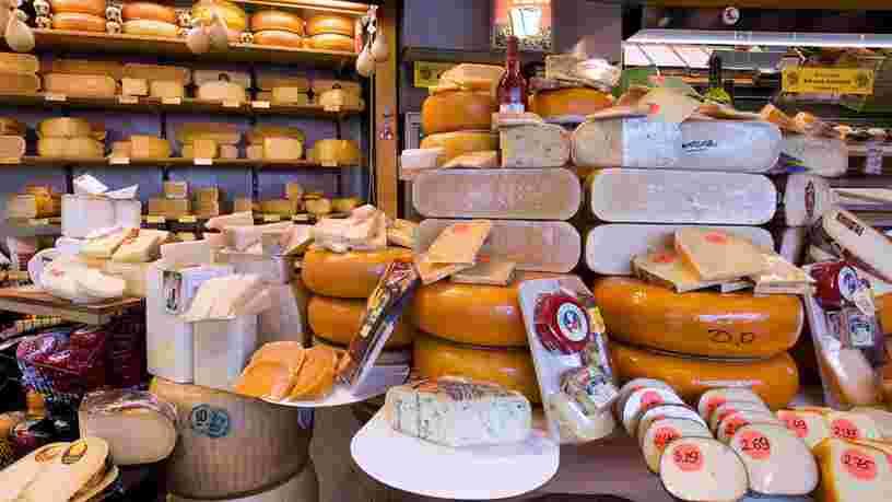 Les scientifiques ont trouvé de nouvelles preuves disant que le fromage serait bon pour la santé