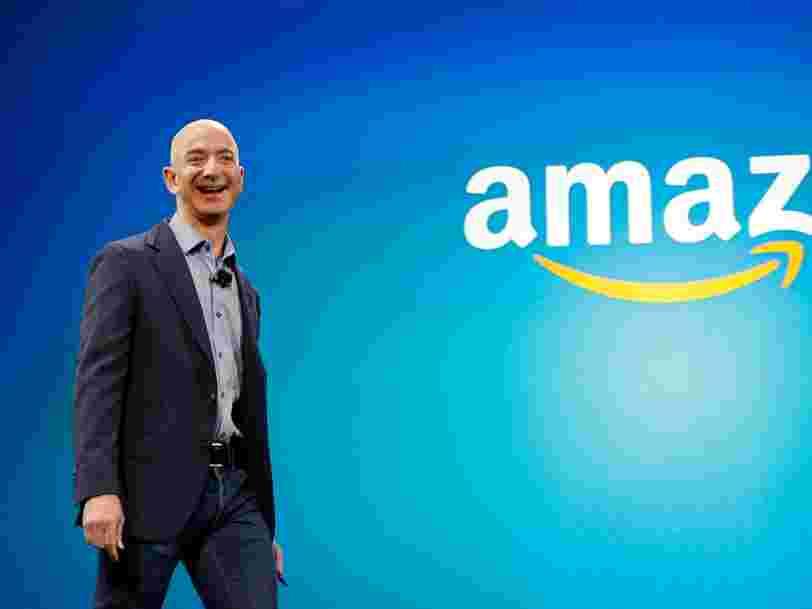Amazon emploie désormais 542.000 personnes et a l'intention d'en embaucher des milliers de plus