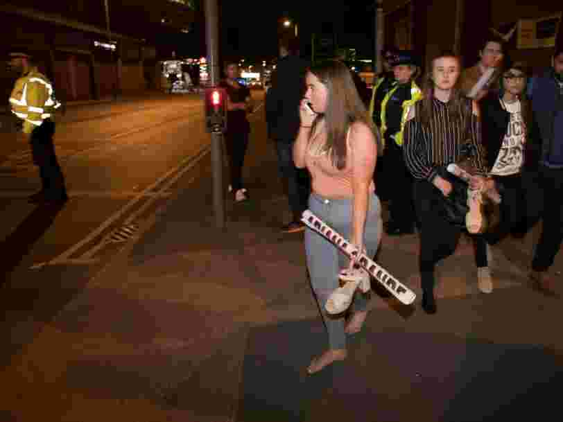 Le groupe Etat islamique revendique l'explosion lors d'un concert d'Ariana Grande à Manchester — il y a 22 morts et plus de 50 blessés