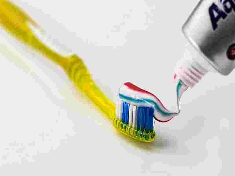 Attention, il est fort possible que votre dentifrice contienne du dioxyde de titane