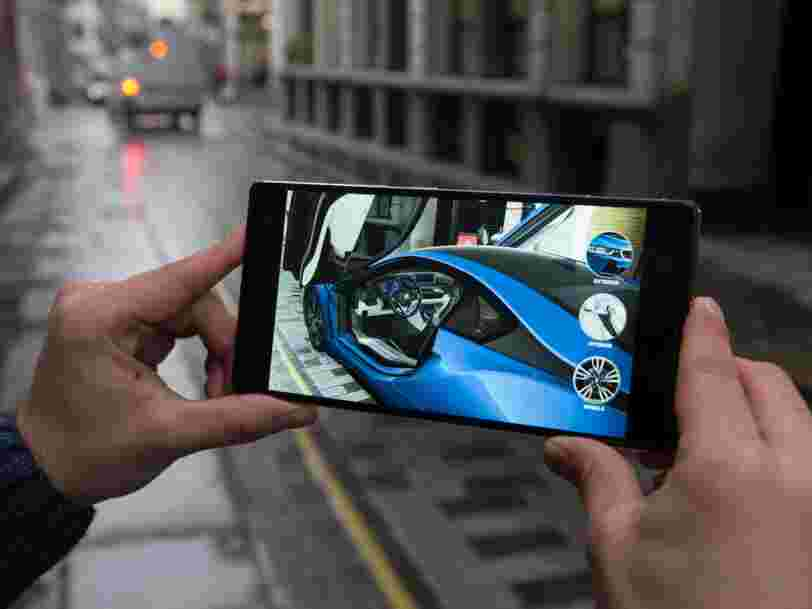 BMW mise sur la réalité augmentée Tango de Google pour vendre plus de voitures