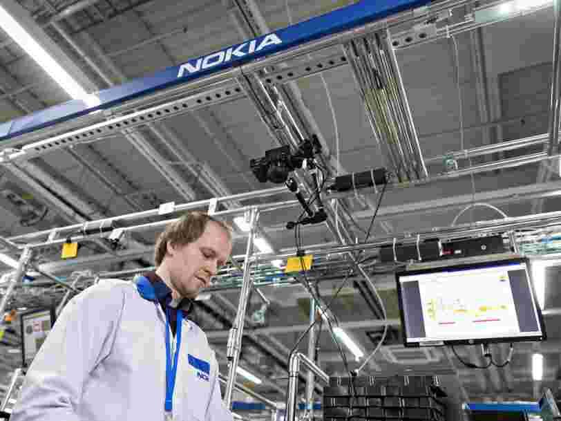 Nokia va supprimer 460 emplois sur 5500 en France pour réaliser des économies