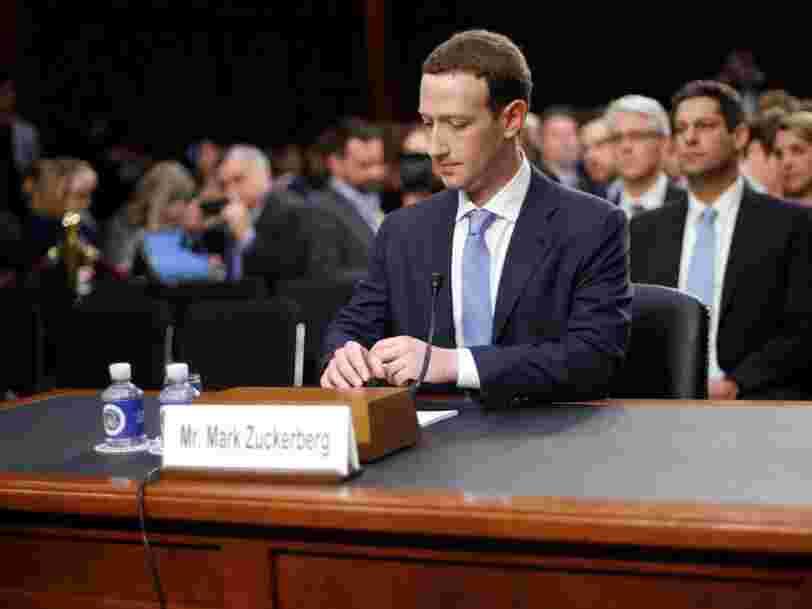 La seconde audition de Mark Zuckerberg devant le Congrès américain était moins facile que la première