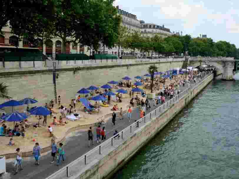 Paris Plages ne traitera plus avec l'entreprise Lafarge qui s'était portée volontaire pour participer au projet de mur voulu par Donald Trump