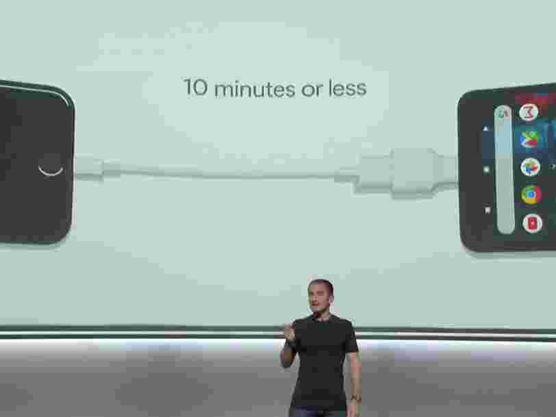 Google a lancé 3 piques à Apple lors de sa grande conférence Pixel hier