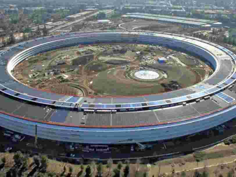 Le nouveau campus d'Apple est tellement futuriste qu'il présente un danger pour ses employés — 3 d'entre eux ont déjà appelé les secours