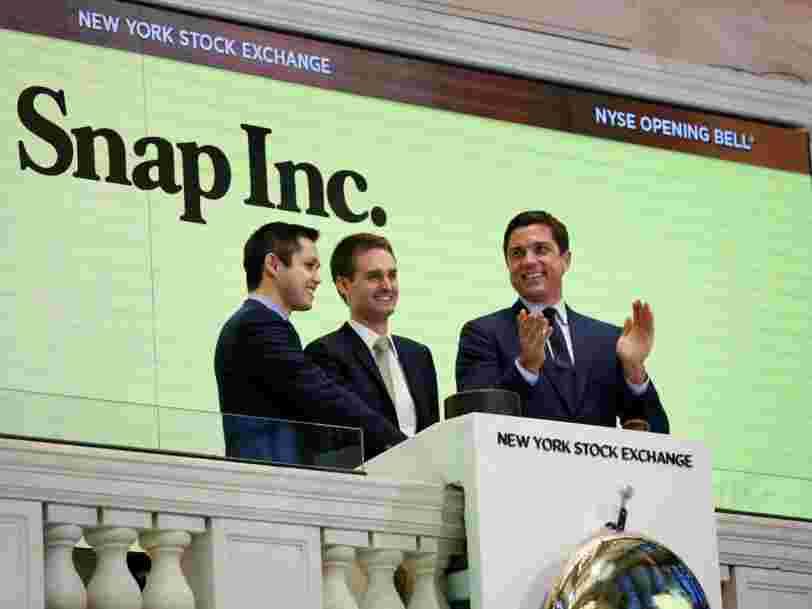 Snap Inc. publie ses résultats trimestriels aujourd'hui —voici ce qu'il faut surveiller