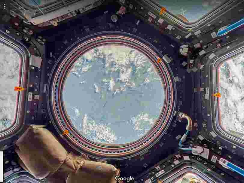 Google Street View vous emmène à l'intérieur de la Station spatiale internationale — regardez à quoi ça ressemble